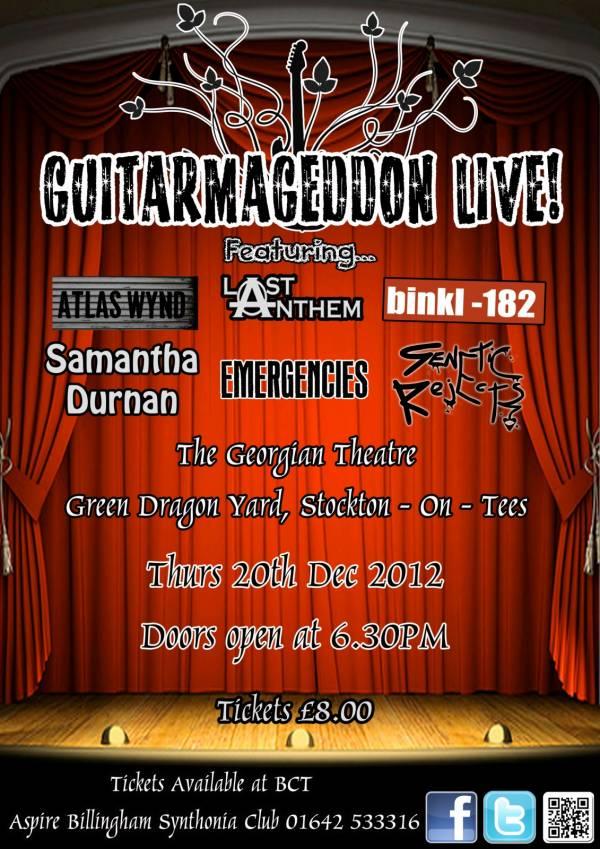 Guitarmaggedon poster