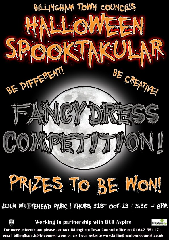 Fancy Dress Competition Poster