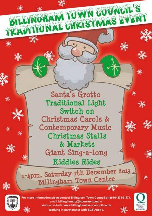 Billingham Town Council's Christmas Event! – BCT Aspire